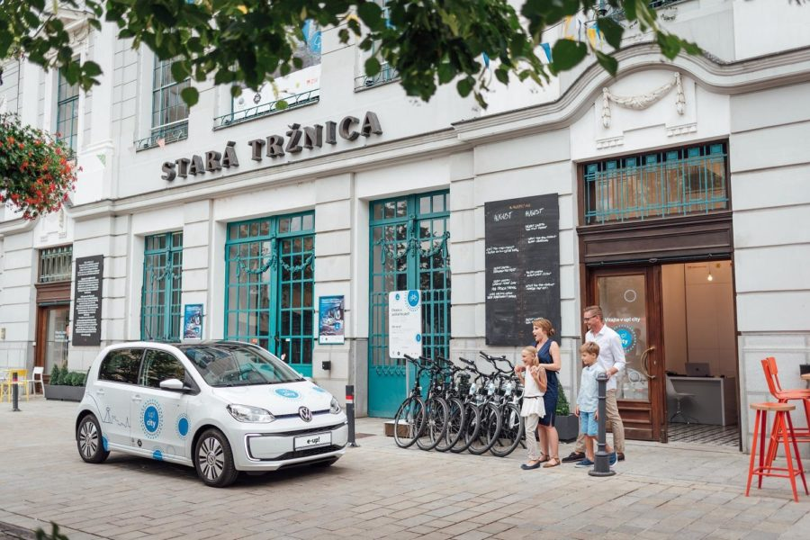 Bratislava's Unique Urban Project: Up! City